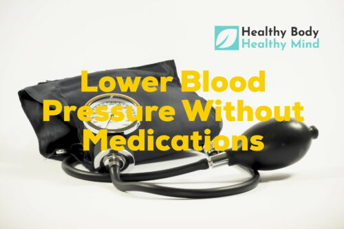 Lower bloodpressure without medication