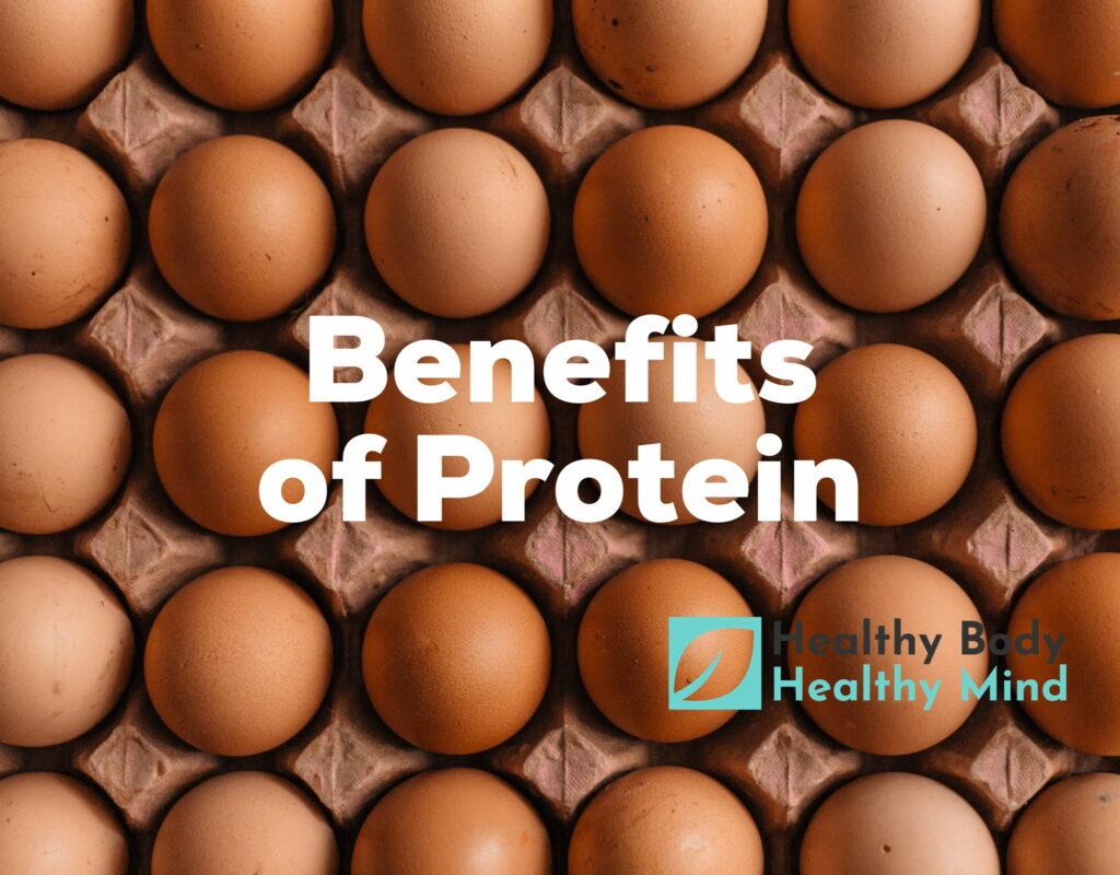 health benefits of protein