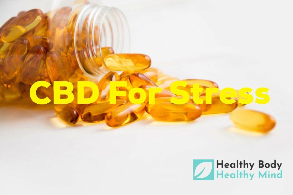 CBD for Stress