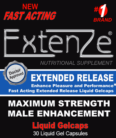 extenze extended release male enhancement