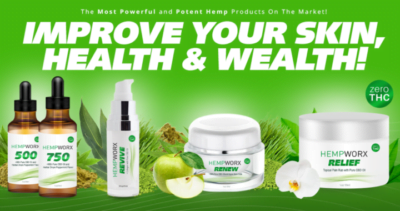 HempWorx Reviews: Pure Hemp CBD Oil for Skin, Mental & Brain Health