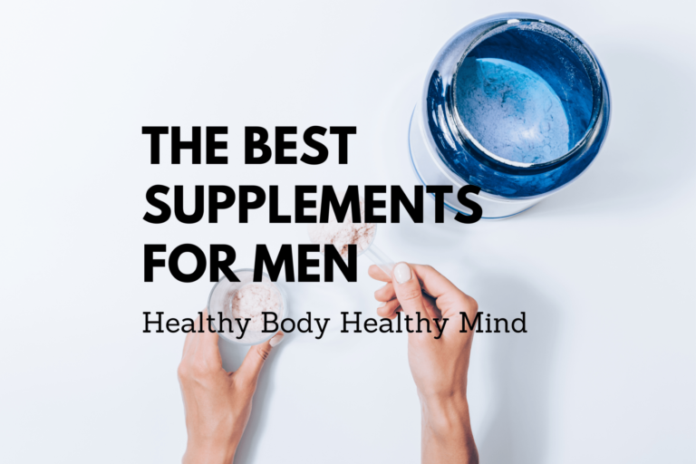 The Best Supplements for Men of 2020