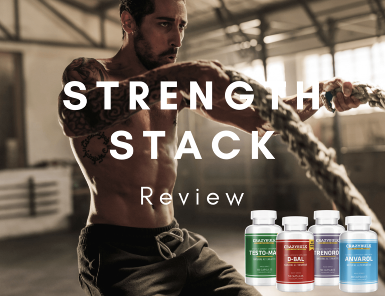 Crazy Bulk Strength Stack Review