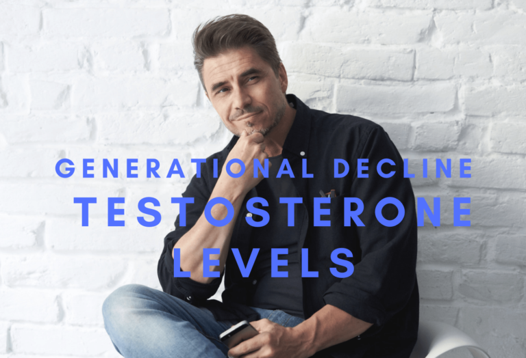 Reasons For A Generational Decline In Testosterone Levels In Men